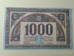 Georgia 1918 1000 Rubli - Russia