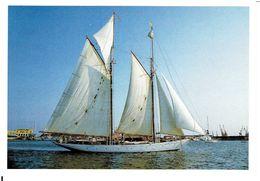 PURITAN - Schoner (1929) / Modern Card - Segelboote