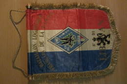 Fanion Du Bataillon Logistique Français De La FINUL (Liban) - UNIFIL - Bandiere