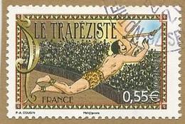 2008 - Le Cirque : Le Trapéziste - Y&T N° 4216 - Oblitéré Cachet Rond - Frankreich