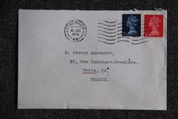 Lettre De GRANDE BRETAGNE ( KENSINGTON ) Vers FRANCE - 1952-.... (Elizabeth II)