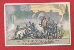 Die Freiheitskriege  -abimée Au Dos - Patrióticos