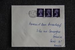 Lettre De GRANDE BRETAGNE ( South KENSINGTON)  Vers FRANCE - 1952-.... (Elizabeth II)