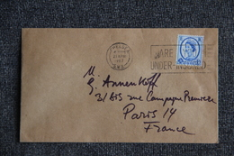 Lettre De GRANDE BRETAGNE ( CHELSEA)  Vers FRANCE - 1952-.... (Elizabeth II)