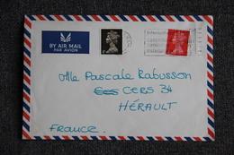 Lettre De GRANDE BRETAGNE  Vers FRANCE - 1952-.... (Elizabeth II)