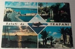 SALUTI DA TRAPANI – VIAGGIATA 1967 – (2017) - Trapani