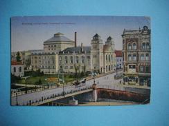 BROMBERG ( BYDGOSZCZ )  - DanzigerStadttheater Und Theaterplatz  -  POLOGNE - Cachet Militaire + Cachet Bromberg  - 1914 - Polen
