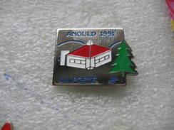 Pin's De La Poste De La Ville De ARNOULD En 1991 (Dépt Vosges) - Mail Services