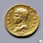 German States - Westphalia - 10 Franken - 1813 C - Monedas En Oro