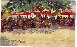 GHANA GOLD COAST PALAVER OF CHIEFS TUCK'S POST CARDS - Ghana - Gold Coast