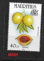 MAURITIUS   1995 Spices  MNH   Myristica Fragrans - Mauritius (1968-...)