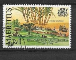 MAURITIUS  1998 The 400th Anniversary Of Dutch Landing On Mauritius  USEDFREDERIK HENRIK FORT - Mauritius (1968-...)