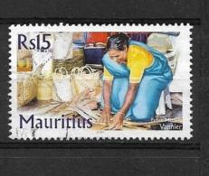 MAURITIUS  2004 Traditional Trades USED LAST VALUE VANNIER - Maurice (1968-...)