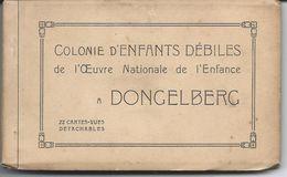 Carnet Complet (22 Cp) De Dongelberg Colonie D'Enfants Débiles De L'Oeuvre Nationale De L'Enfance - Jodoigne