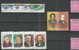 """Malta 731-735,751-754 """"9 Briefmarken 1985-1986"""" Postfrisch  Mi.:11,00 - Malta"""