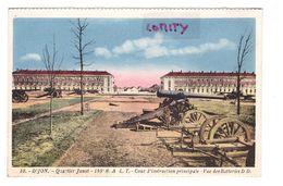21 Dijon Quartier Junot 186e RALT Artillerie Cour D' Instruction Principale Les Batteries - Dijon