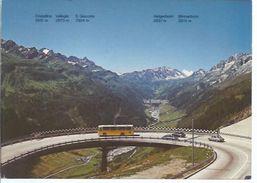 Gotthardstrasse - Blick Ins Bedrettotal    - **93700-094** - TI Tessin