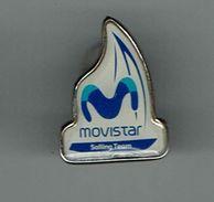 Pin Movistar Sailing Team - Sailing, Yachting