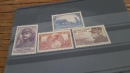 LOT 380714 TIMBRE DE FRANCE NEUF** N°454 A 457 VALEUR 52 EUROS LUXE - France