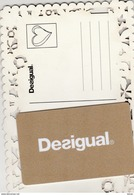 DESIGUAL - Carta Di Fedeltà E Regalo