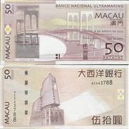 Macau 2009 - 50 Patacas - Banco Nacional Ultramarino Pick 81B UNC - Macau