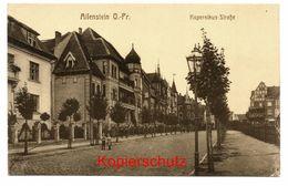 Allenstein Um 1910, Kopernikus-Strasse - Ostpreussen