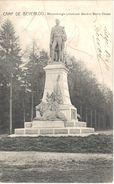 Bourg-Léopold - CPA - Camp De Beverloo- Monument Du Lieutenant Général Baron Chazal - België