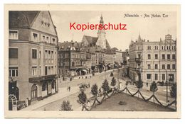 Allenstein Um 1920, Am Hohen Tor - Ostpreussen