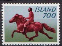 Iceland MNH Stamp - Horses
