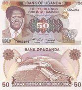 Uganda P-20  50 Shillings 1985  UNC - Uganda