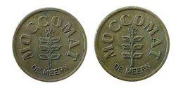 04287 GETTONE JETON TOKEN NETHERLANDS DISPENSER MACHINE COFFEE MOCCOMAT DE MEERN - Unclassified