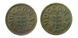 04287 GETTONE JETON TOKEN NETHERLANDS DISPENSER MACHINE COFFEE MOCCOMAT DE MEERN - Netherland