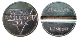 03249 GETTONE JETON TOKEN AMUSEMENT PLAY MACHINE WOOLFSON LEISURE EUROCOIN LONDON - Unclassified