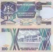 Uganda P-31c  100 Shillings 1997 UNC - Uganda