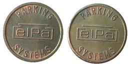 03258 GETTONE JETON TOKEN BELGIUM PARCHEGGIO PARKING PARKMUNZE ELPA SYSTEM PARKING - Netherland