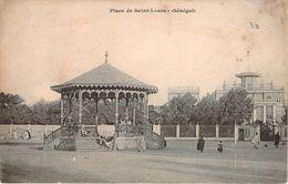 CPA Sénégal Place De Saint-Louis (animée) PI 395 - Senegal