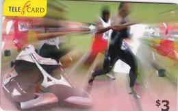Fiji, FIJ-R-249, $3, 2006 Sports, Running (0603464), 2 Scans - Fiji