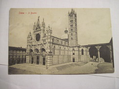 CPA  Siena  Il Duomo 19.. T.B.E. - Siena