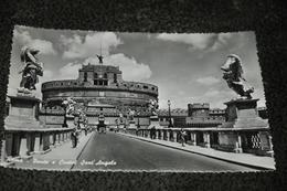 1075- Roma, Ponte E Castel Sant'Angelo - Ponts