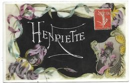 PRENOM HENRIETTE - Prénoms
