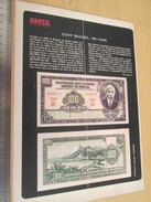 Page De Revue Des Années 60/70 : TINTIN NUMISMATIQUE BILLETS DE BANQUE RARESBRESIL   Format : Page A4 - Banknotes