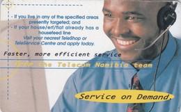 Namibia, NMB-039, Phone Operator, 2 Scans. - Namibia