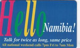 Namibia, NMB-034, Hello Namibia - Talk For… On All…, 2 Scans - Namibia