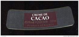 Etiquette  De  Crème De Cacao - Labels