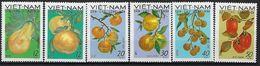"Viet-Nord YT 648 à 643 "" Fruits "" 1969 Neuf** - Vietnam"