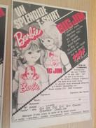 Page De Revue Des Années 60/70 : PUBLICITE T-SHIRT BARBIE  Format : 1/4 Page A4 - Barbie
