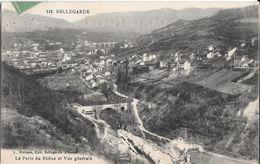 BELLEGARDE Perte Du Rhone Et Vue Générale - Bellegarde-sur-Valserine