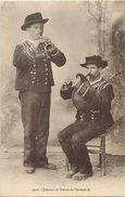 - Themes Div- Ref V357- Musique Et Musiciens - Bretagne - Joueurs De Biniou De Quimperlé - Finistere - - Musique Et Musiciens