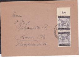 A12  /   Deutsches Reich Brief /  857 MeF  Rawitsch Posen 1943 - Deutschland