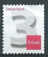 ALLEMAGNE ALEMANIA GERMANY DEUTSCHLAND BUND 2012 3C NUMERAL S/A MI 2967 YV 2791 SC 2698 SG 3808A - BRD